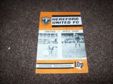 Hereford United v West Ham United, 1971/72 [FA]